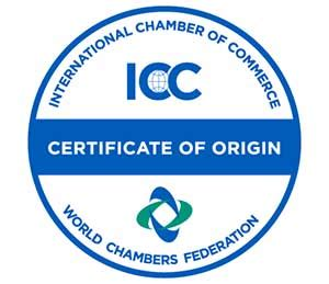 Business country of origin certificate